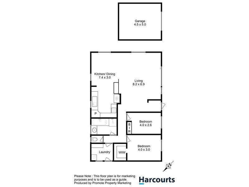 71A Montagu Bay Road, Montagu Bay, Tas 7018 - floorplan