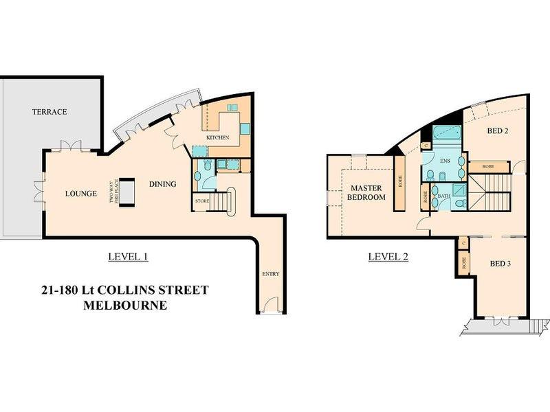 21/180 Little Collins Street, Melbourne, Vic 3000 - floorplan