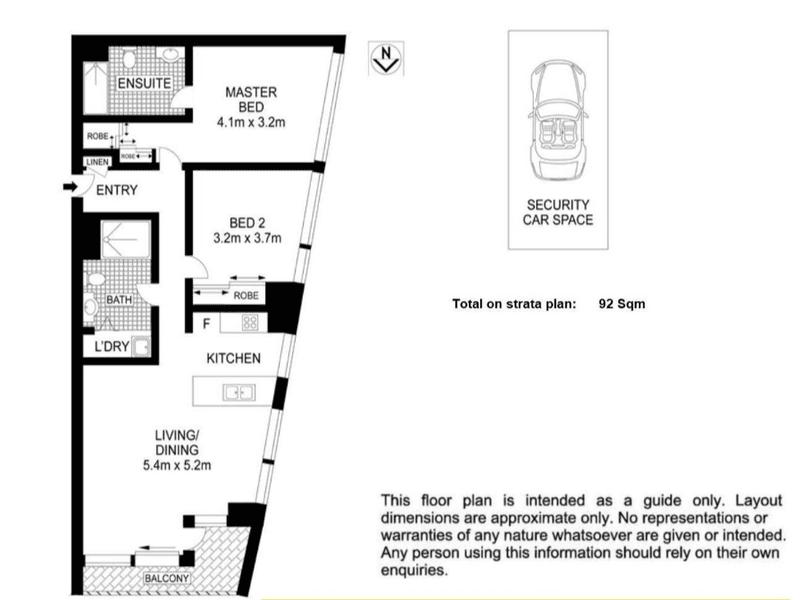 1101/438 Victoria Avenue, Chatswood, NSW 2067 - floorplan