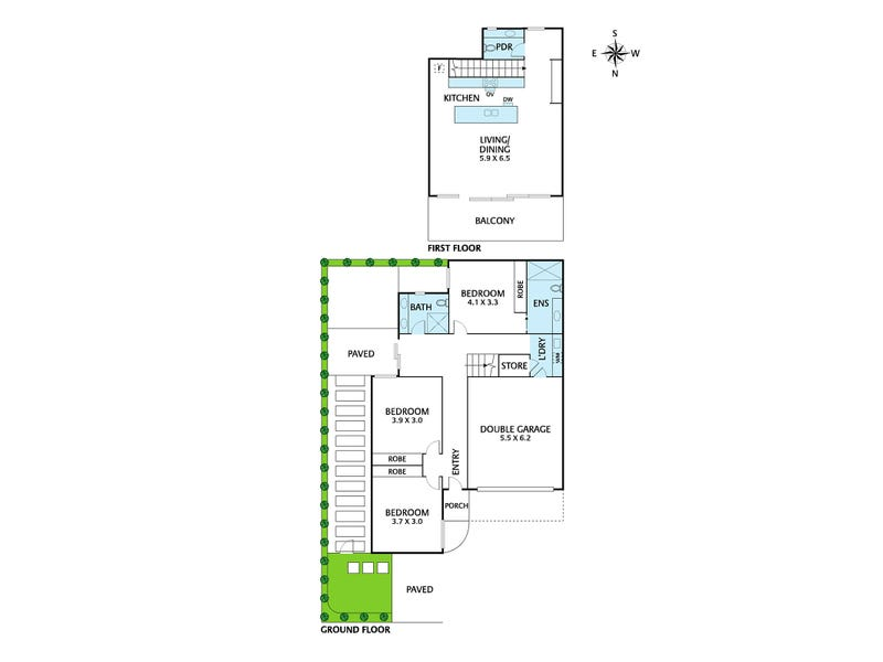 4/142 Princess Street, Kew, Vic 3101 - floorplan