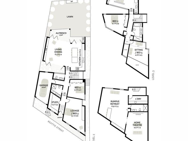 160 Beattie Street, Balmain, NSW 2041 - floorplan