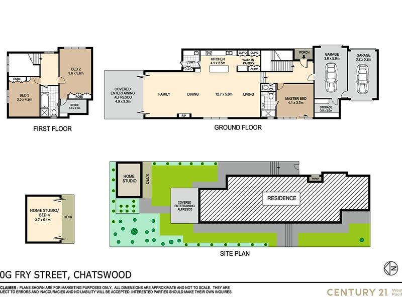 10G Fry Street, Chatswood, NSW 2067 - floorplan