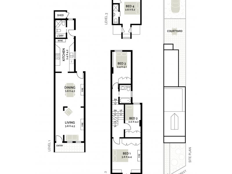 512 Bourke Street, Surry Hills, NSW 2010 - floorplan
