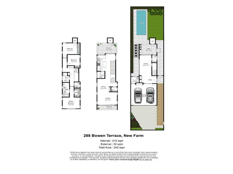 288 Bowen Terrace, New Farm, Qld 4005 - floorplan