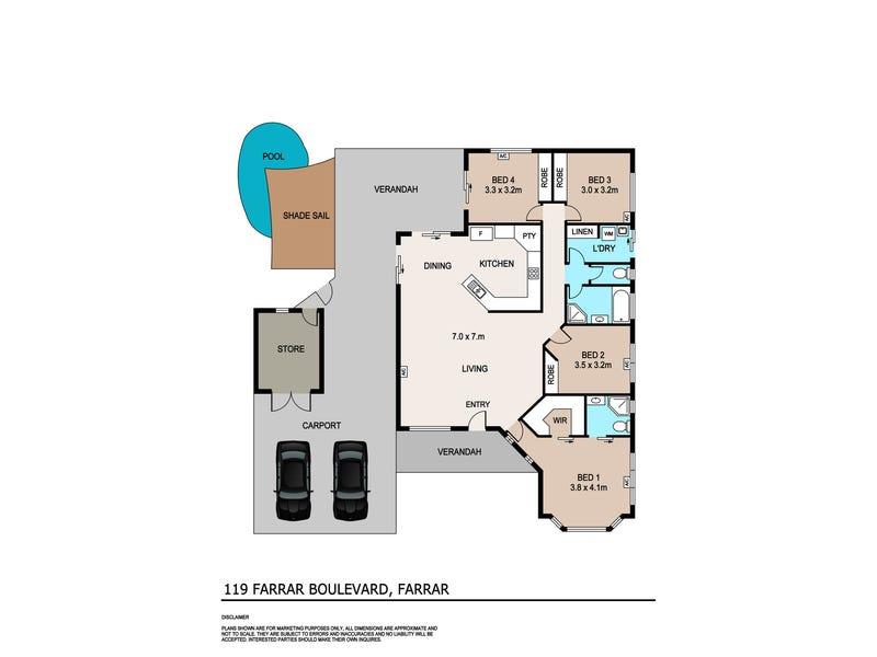 119 Farrar Boulevard, Farrar, NT 0830 - floorplan