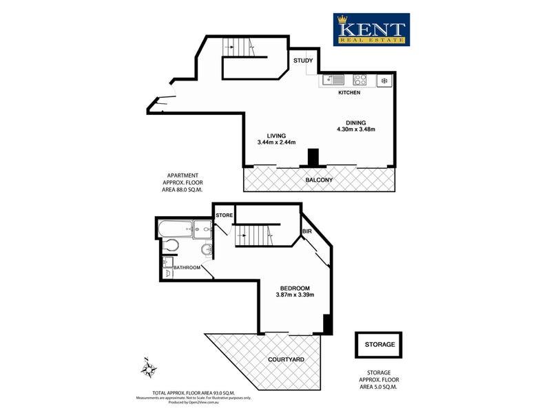 208/298 Sussex Street, Sydney, NSW 2000 - floorplan