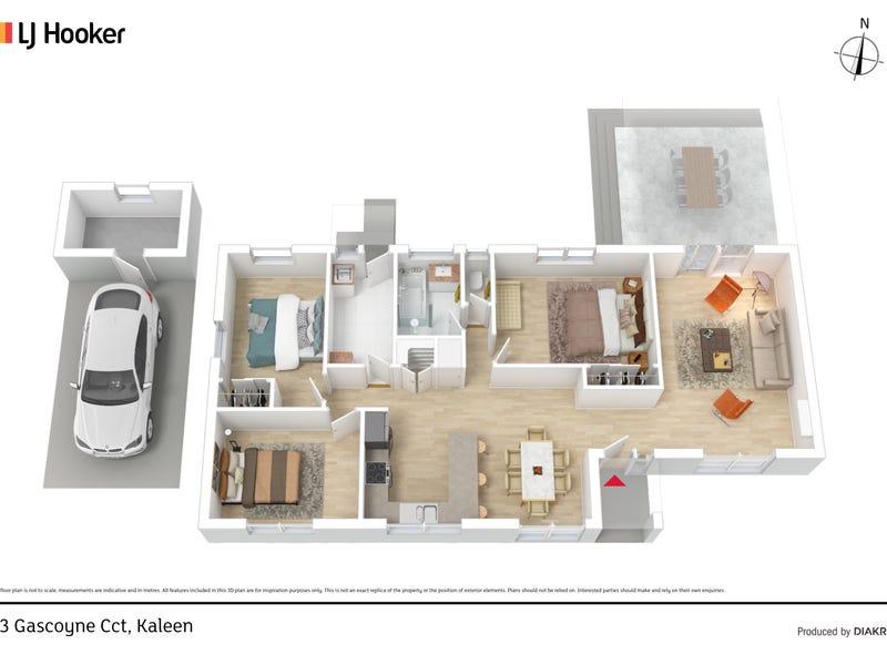 23 Gascoyne Circuit, Kaleen, ACT 2617 - floorplan