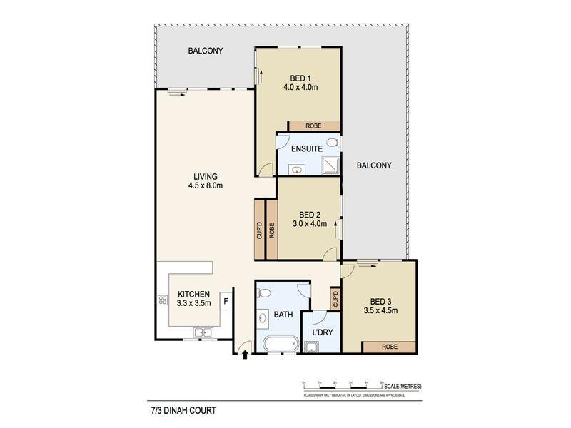 7/3 Dinah Court, Stuart Park, NT 0820 - floorplan