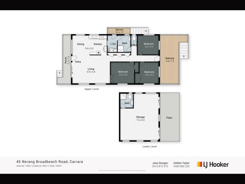 45 Nerang Broadbeach Road, Nerang, Qld 4211 - floorplan
