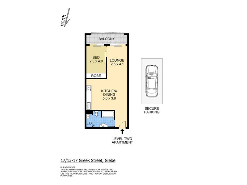 17/13-17 Greek Street, Glebe, NSW 2037 - floorplan