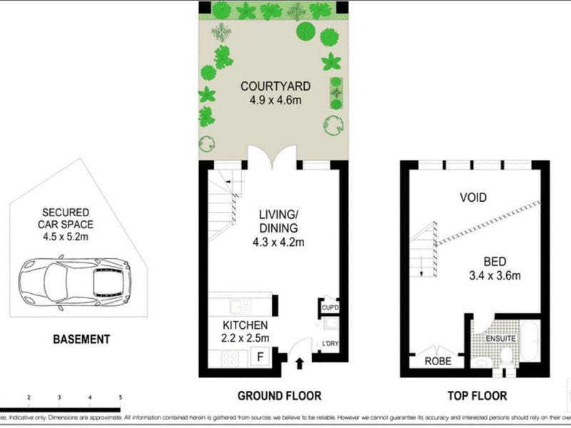 1/156 Spit Road, Mosman, NSW 2088 - floorplan