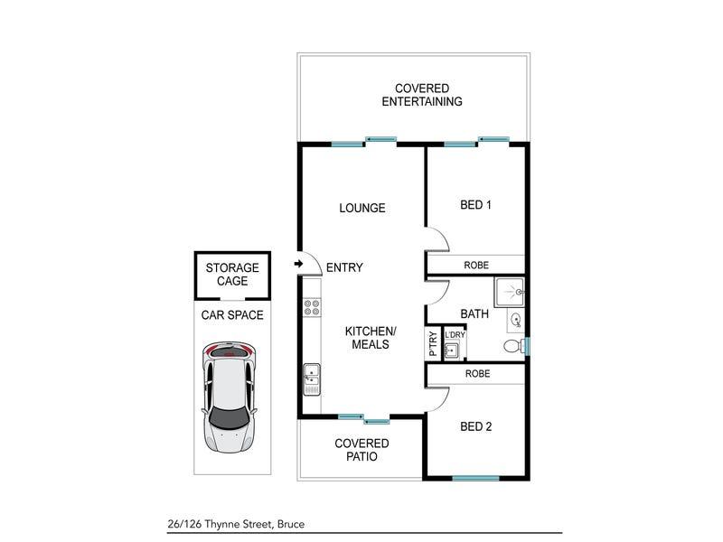 26/126 Thynne Street, Bruce, ACT 2617 - floorplan