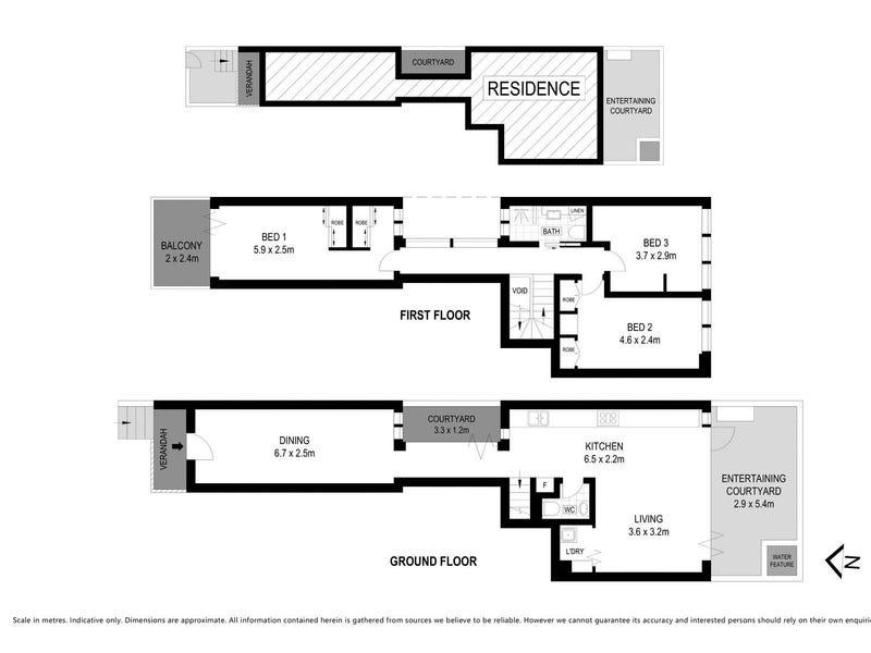 188 Darling Street, Balmain, NSW 2041 - floorplan