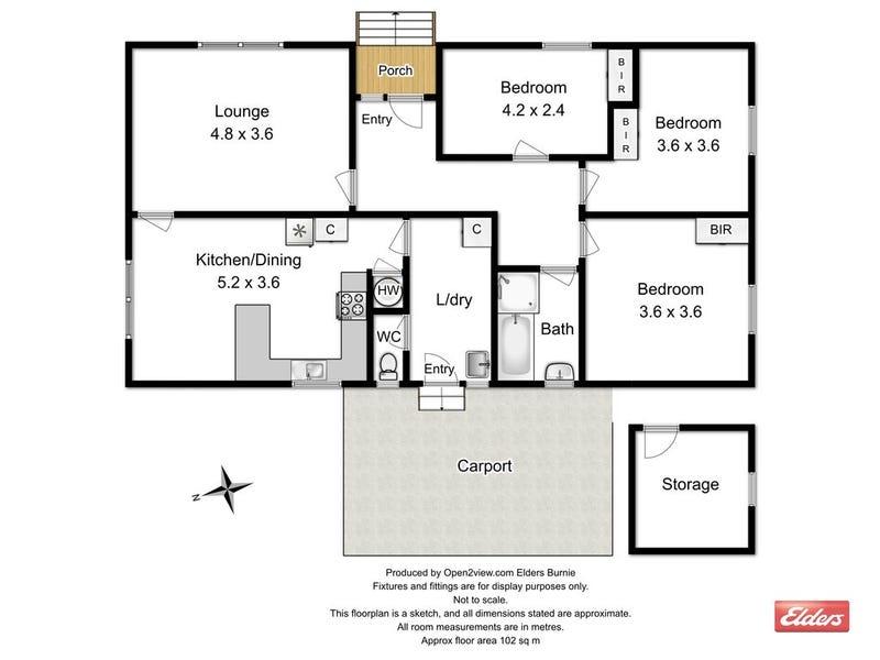 20 Victoria Street, Tullah, Tas 7321 - floorplan