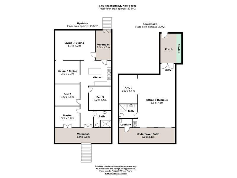 146 Harcourt Street, New Farm, Qld 4005 - floorplan