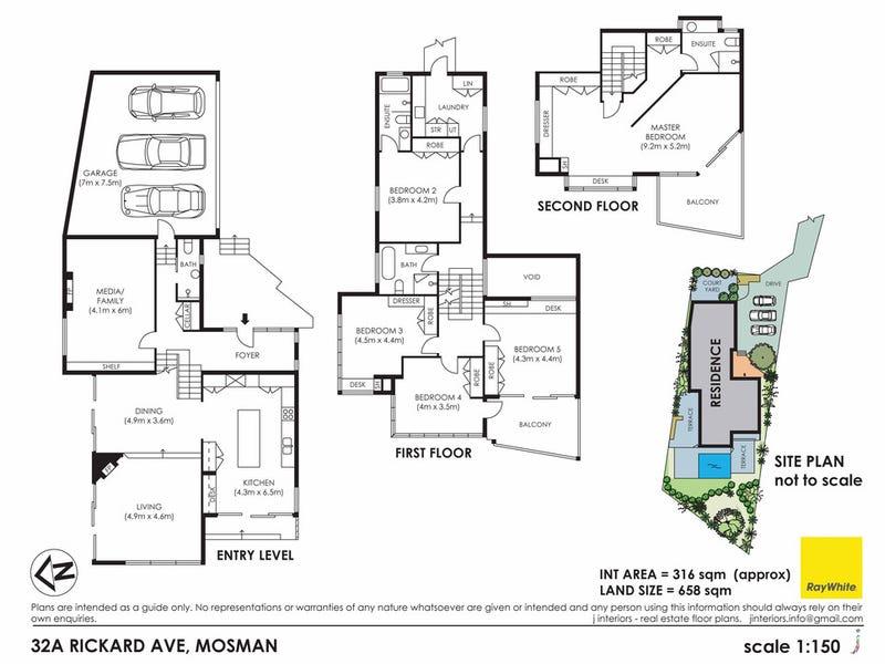 32A Rickard Avenue, Mosman, NSW 2088 - floorplan