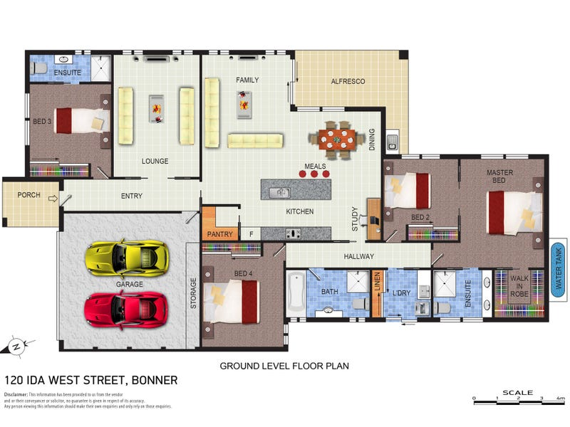 120 Ida West Street, Bonner, ACT 2914 - floorplan
