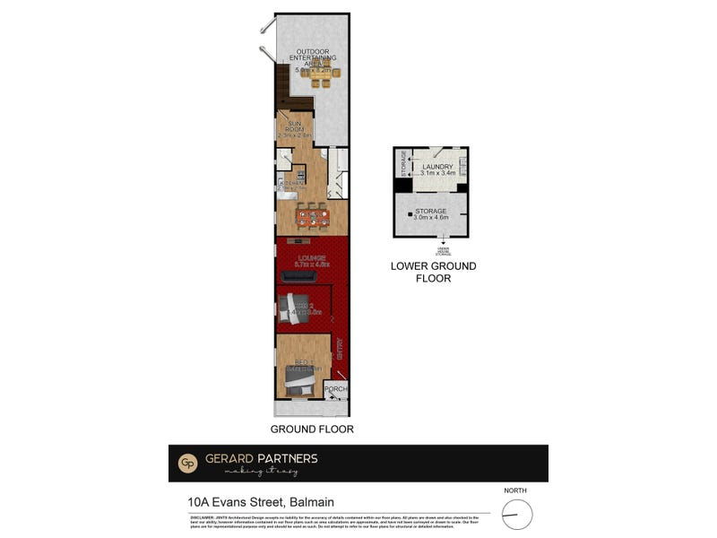 10A Evans Street, Balmain, NSW 2041 - floorplan