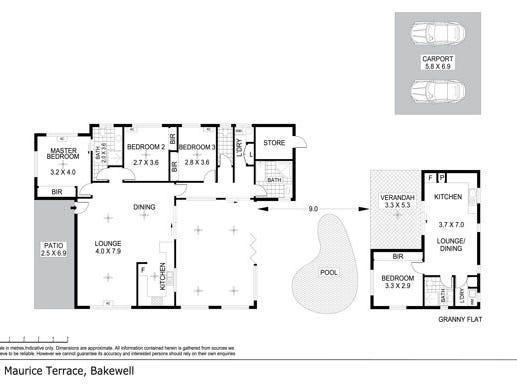 9 Maurice Terrace, Bakewell, NT 0832 - floorplan
