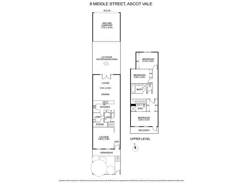 8 Middle Street, Ascot Vale, Vic 3032 - floorplan