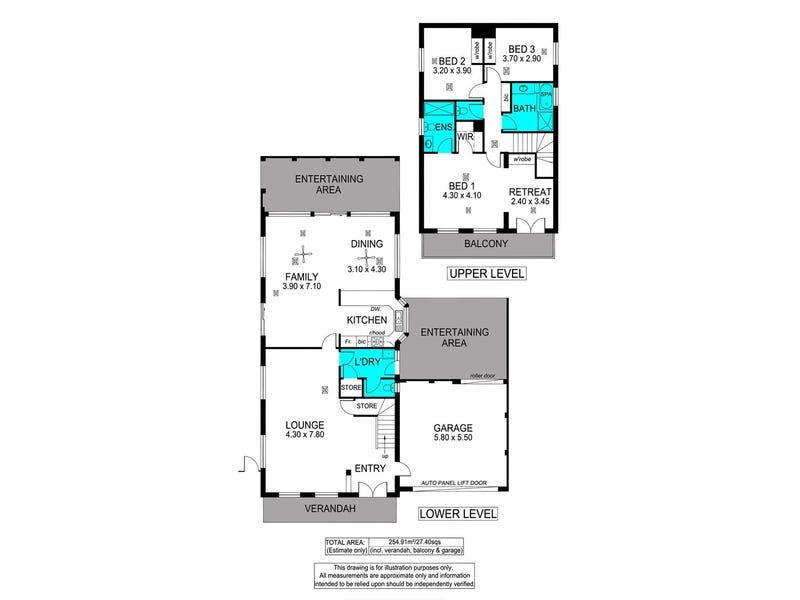 8 Burrington Street, Hallett Cove, SA 5158 - floorplan