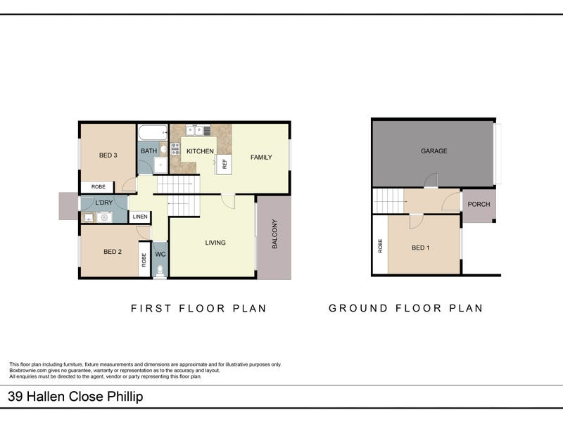 39  Hallen Close, Swinger Hill, ACT 2606 - floorplan
