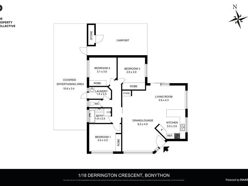 1/18 Derrington Crescent, Bonython, ACT 2905 - floorplan