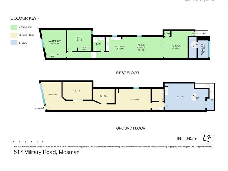 517 Military Road, Mosman, NSW 2088 - floorplan