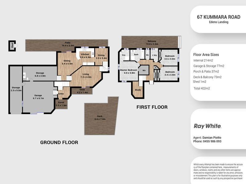 67 Kummara Road, Edens Landing, Qld 4207 - floorplan
