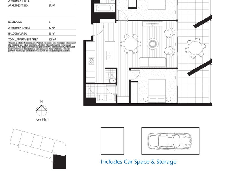 206/81 Harbour St, Sydney, NSW 2000 - floorplan