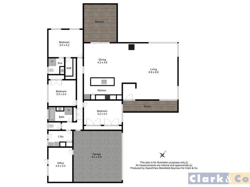 89B Highton Lane, Mansfield, Vic 3722 - floorplan