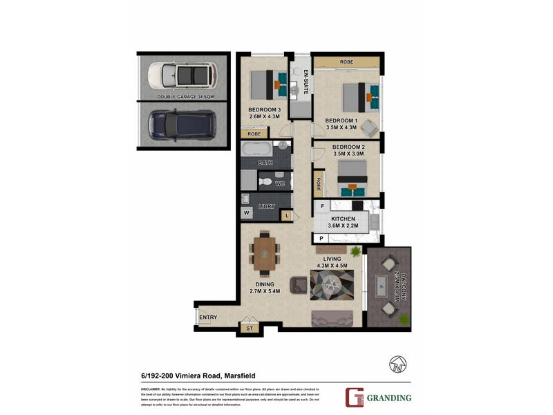 6/192-200 Vimiera Road, Marsfield, NSW 2122 - floorplan