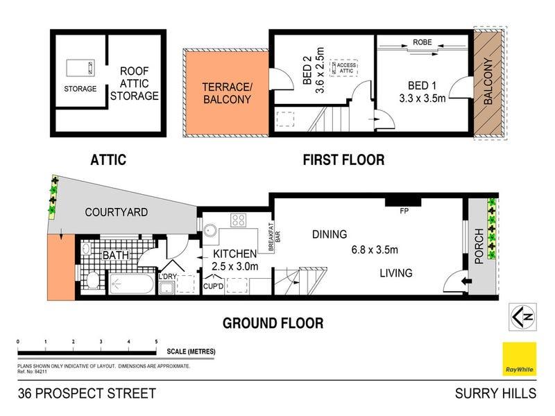 36 Prospect Street, Surry Hills, NSW 2010 - floorplan