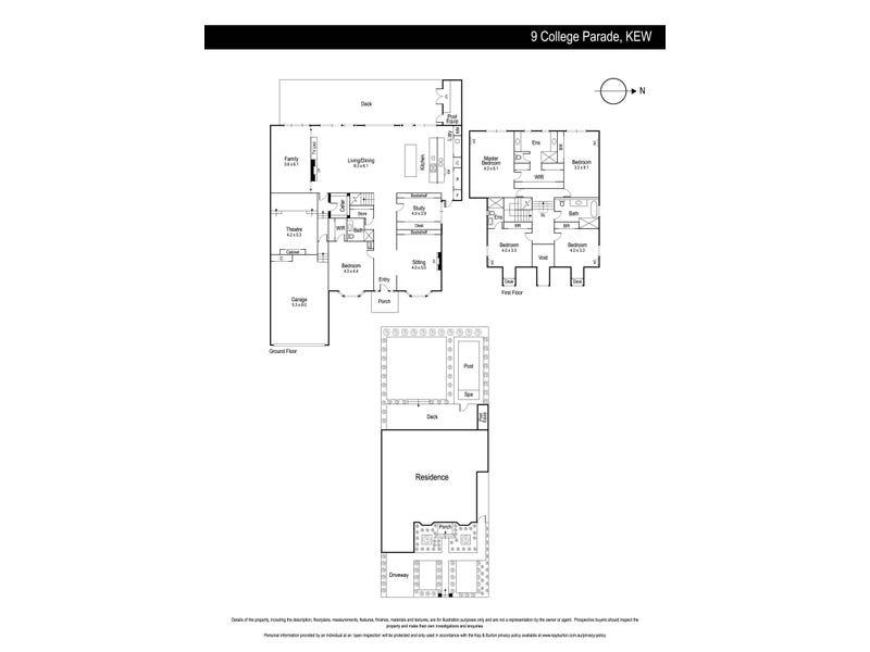 9 College Parade, Kew, Vic 3101 - floorplan