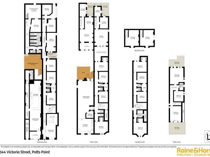 142 -144 Victoria Street, Potts Point, NSW 2011 - floorplan