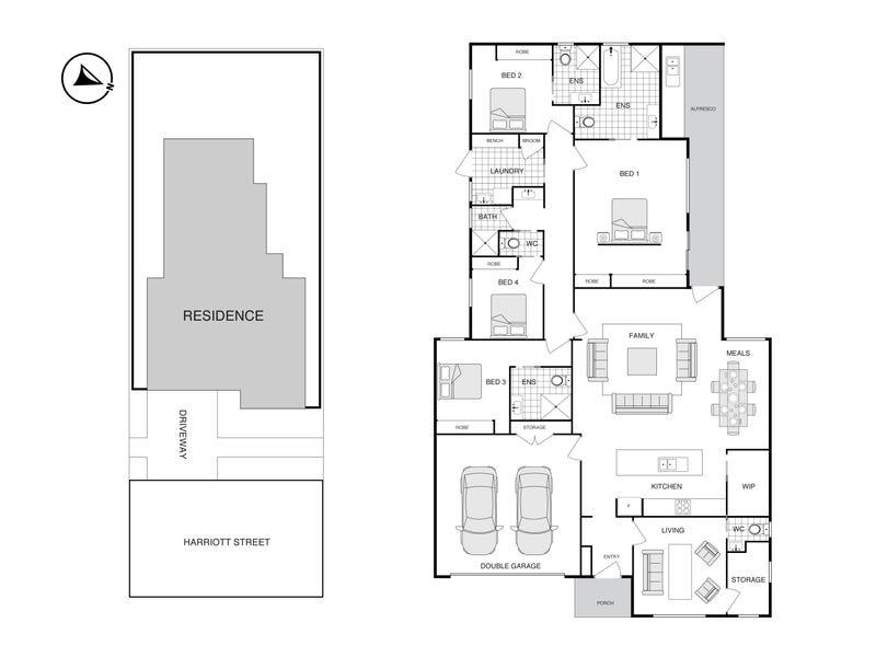 41 Harriott Street, Wright, ACT 2611 - floorplan