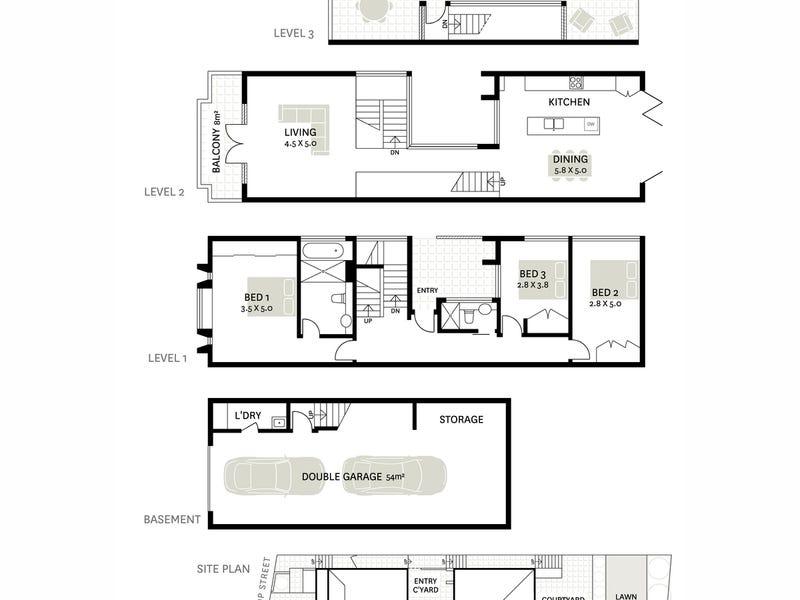 26 Glassop Street, Balmain, NSW 2041 - floorplan