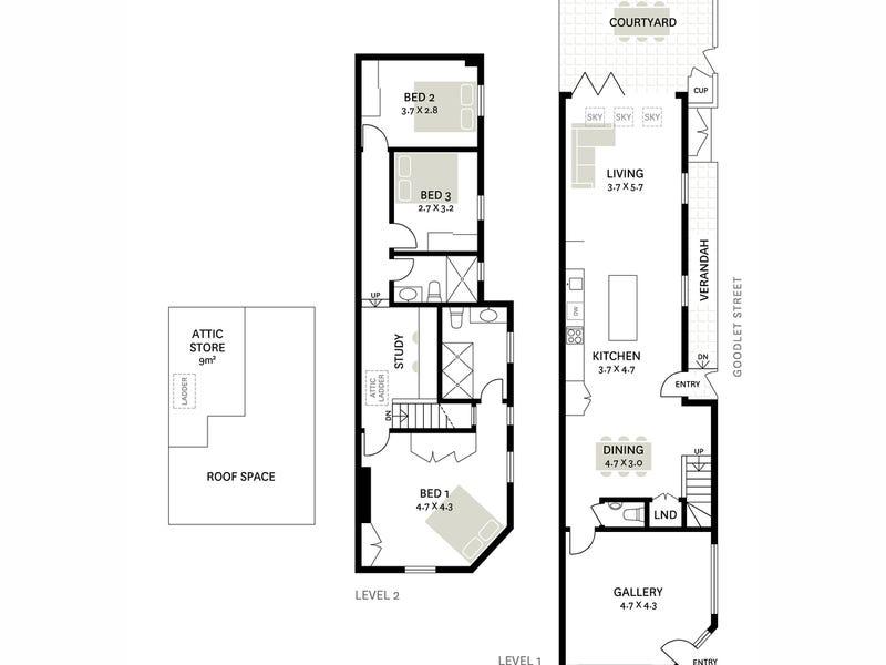 82 Marlborough Street, Surry Hills, NSW 2010 - floorplan