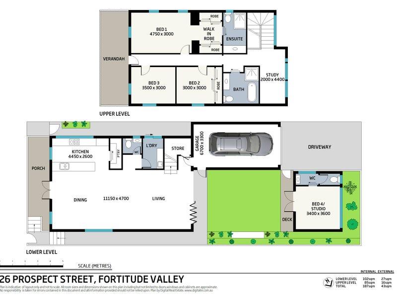 26 Prospect Street, Fortitude Valley, Qld 4006 - floorplan
