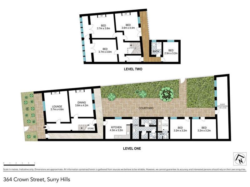 364 Crown Street, Surry Hills, NSW 2010 - floorplan