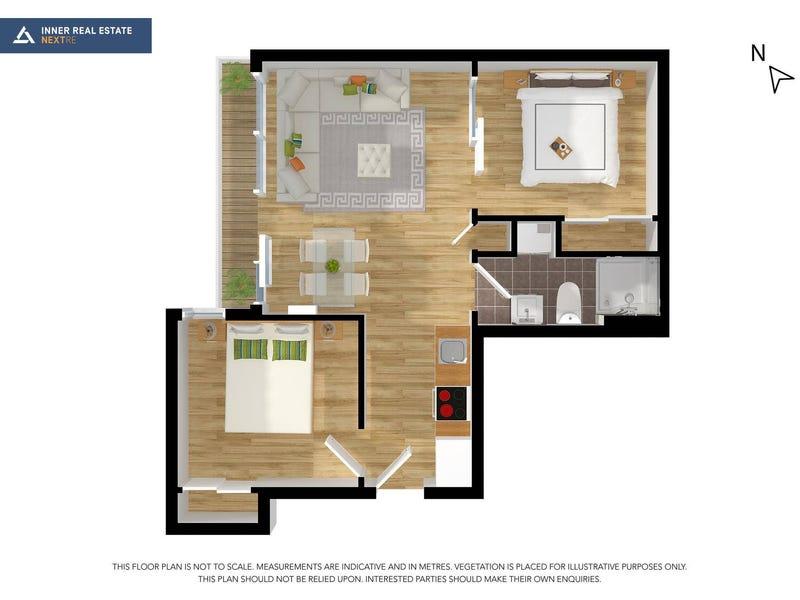 601/22 Coromandel Place, Melbourne, Vic 3000 - floorplan