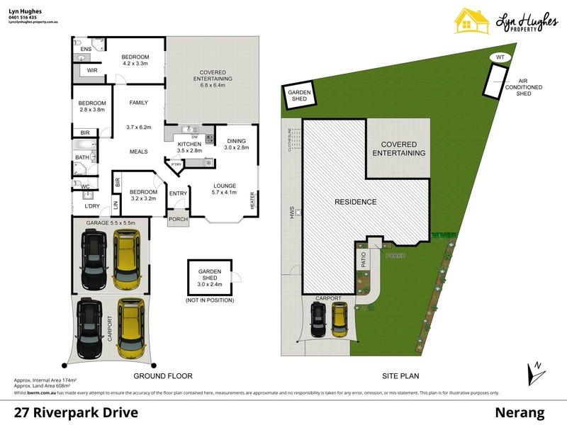 27 Riverpark Drive, Nerang, Qld 4211 - floorplan