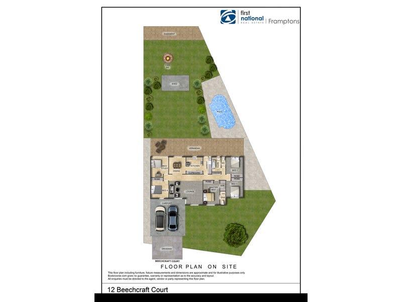 12 Beechcraft Court, Araluen, NT 0870 - floorplan