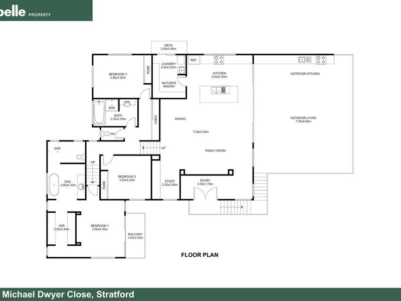 8 Michael Dwyer Close, Stratford, Qld 4870 - floorplan