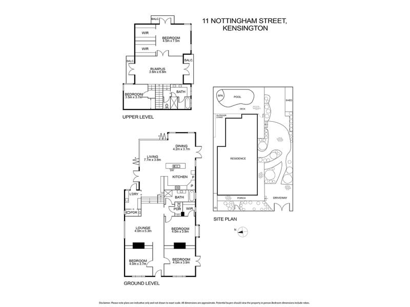 11 Nottingham Street, Kensington, Vic 3031 - floorplan
