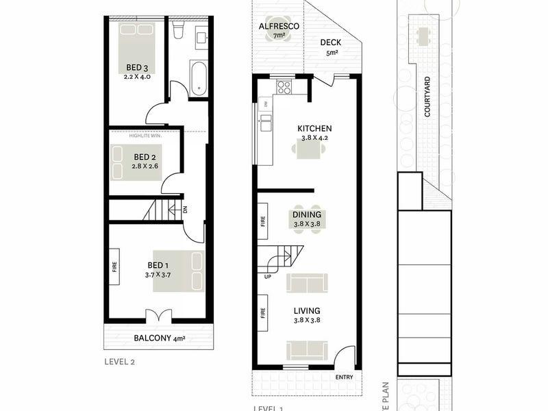 25 Creek Street, Forest Lodge, NSW 2037 - floorplan