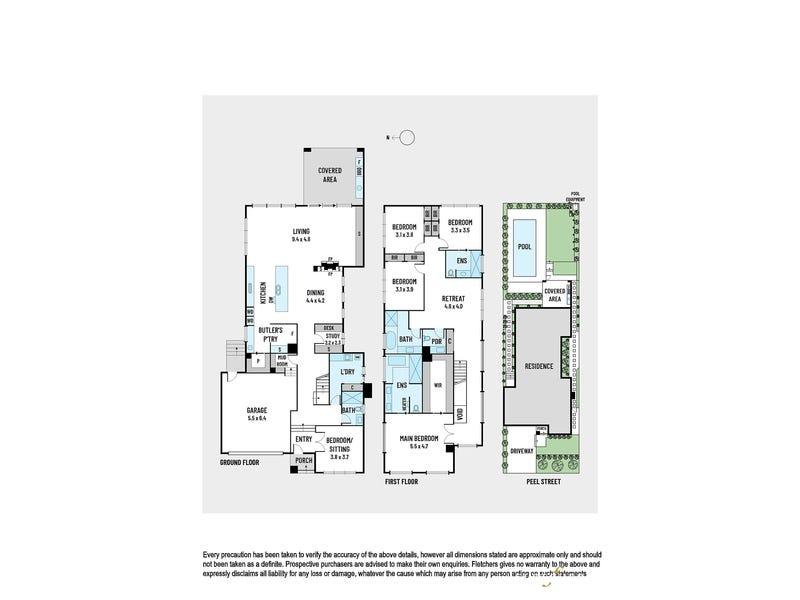 176 Peel Street, Kew, Vic 3101 - floorplan