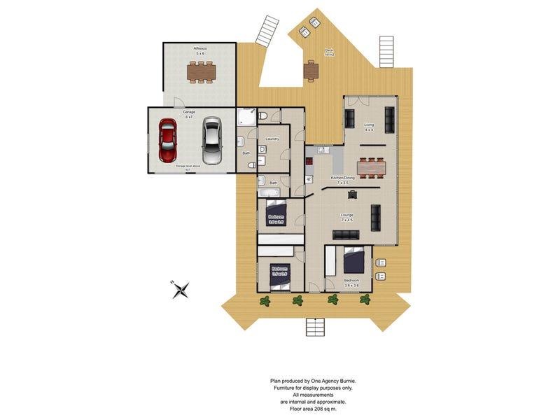 159 Masters Road, South Riana, Tas 7316 - floorplan