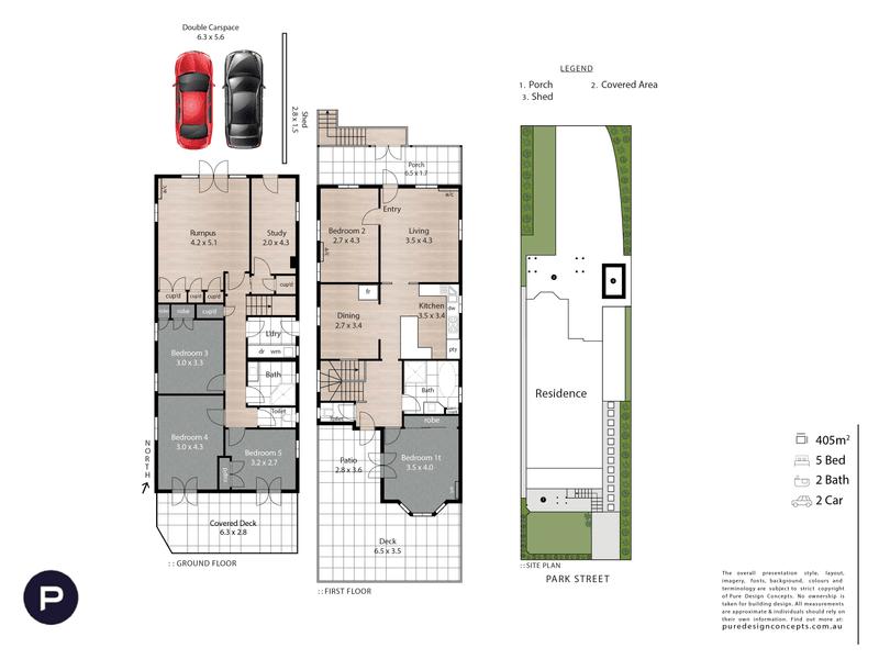 56 Park Street, Kelvin Grove, Qld 4059 - floorplan