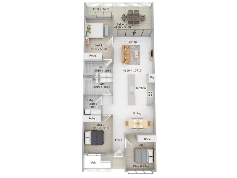 114/250 Farrar Boulevard, Johnston, NT 0832 - floorplan